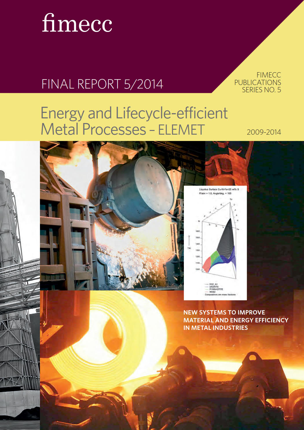 Energy and Lifecycle-efficient Metal Processes– ELEMET
