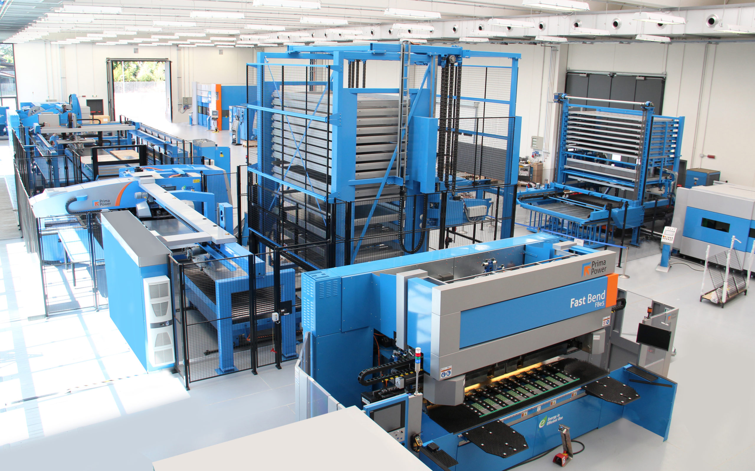 Prima Power's Flexible Manufacturing Systems